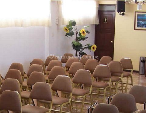 Salón para la ceremonia