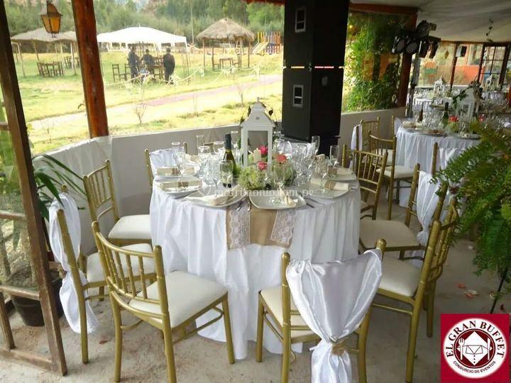 decoración para bodas de día de el gran buffet | foto 10