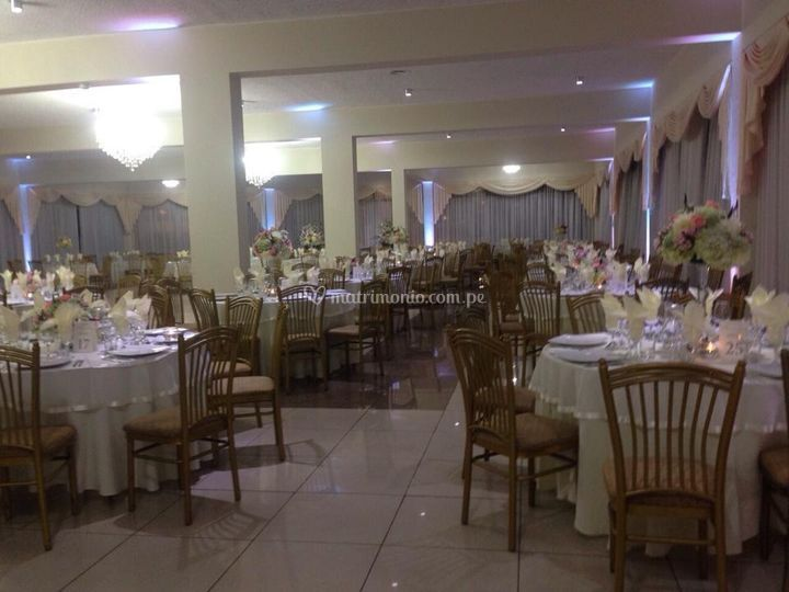 Las mesas están listas