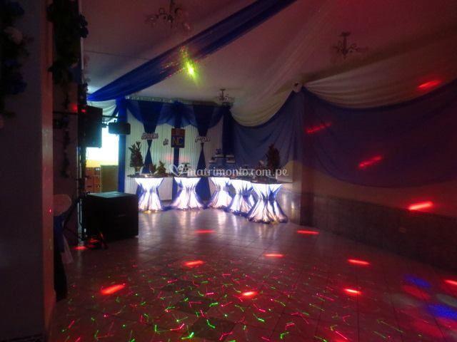 Pista de baile discoteca