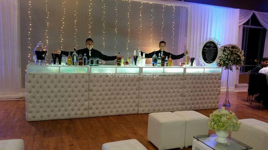 Open bar para matrimonios
