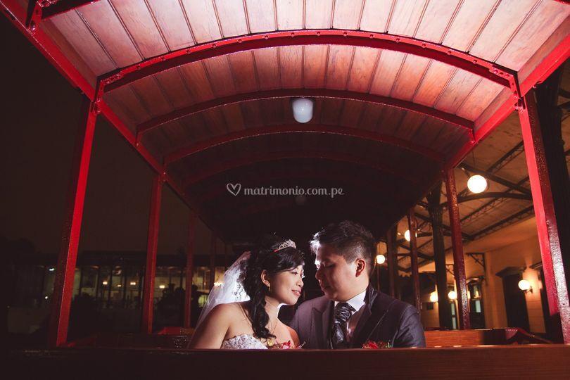 Fotos de bodas, Perú noche
