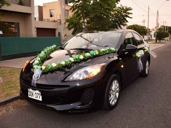 Auto para Matrimonios de Jaguirrenovias