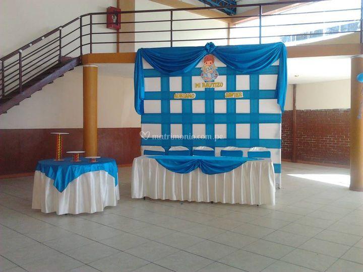 Panel para Bautizos