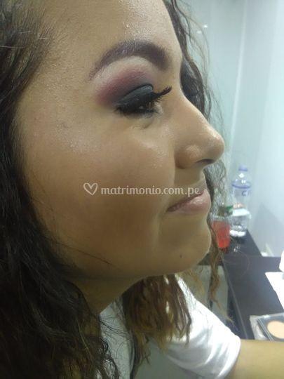 Makeup de noche