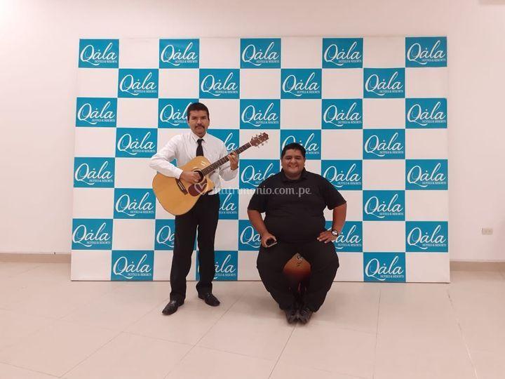 Guitarra y cajón