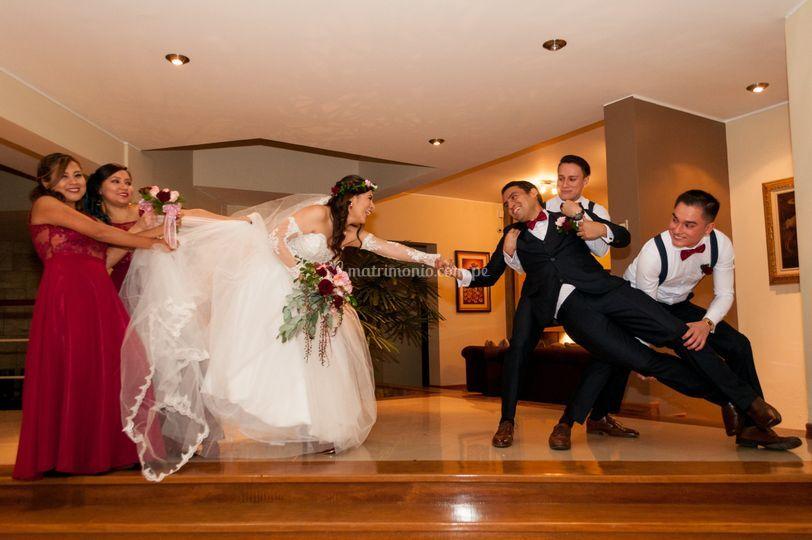 Sesión de fotos post-boda