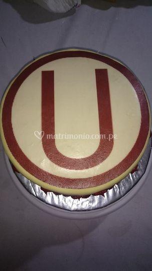Torta personalizada de la U