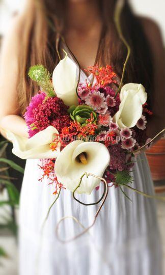 Bouquet estilo campestre