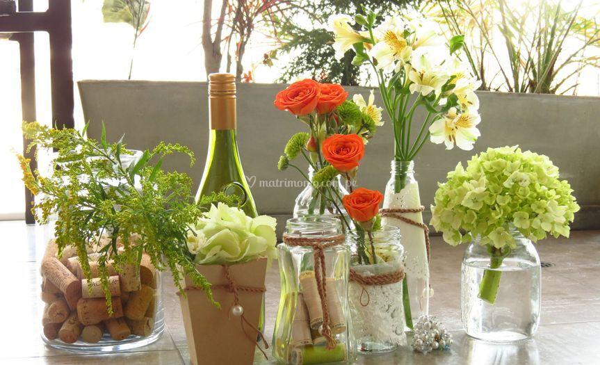 Ideas centros de mesa boda