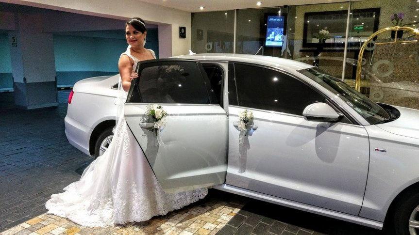 Audi a6 blanco