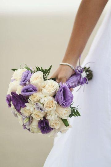 Bouquets en lila
