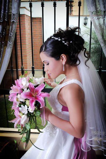 Bouquets en liliums
