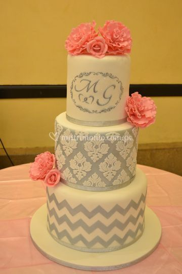 Torta temática para boda