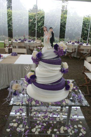 Torta tematica de boda