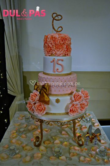 Cake 15 años