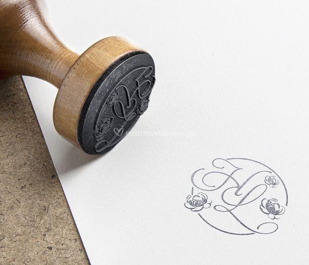 Diseño original de sello