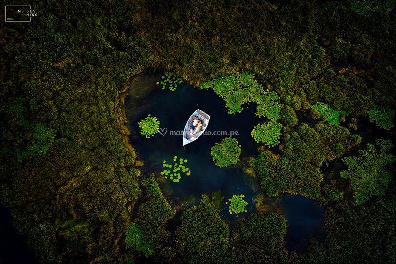 El corazón de la laguna