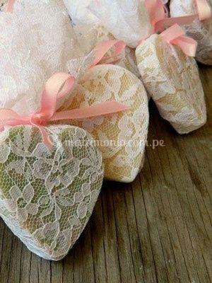 Jabón corazón