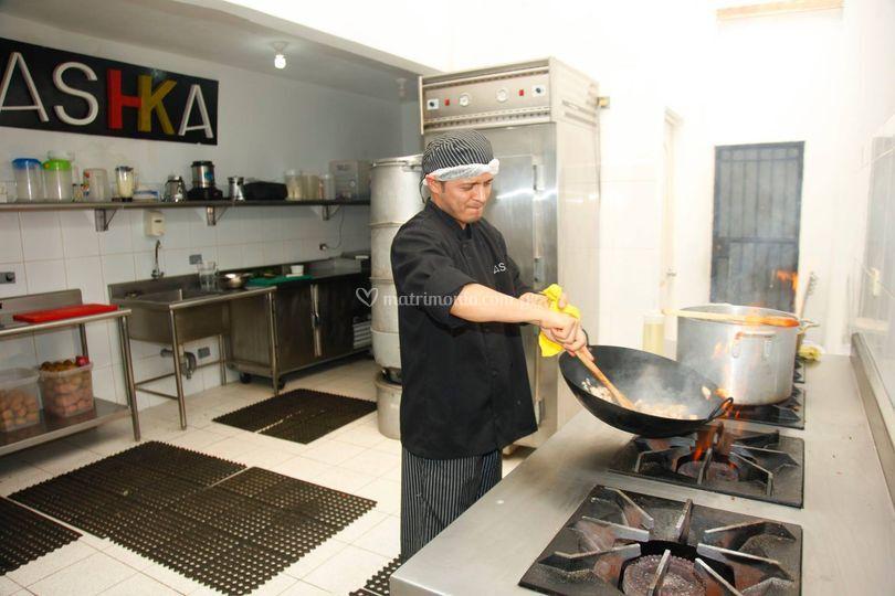 Ashka for Cocina profesional