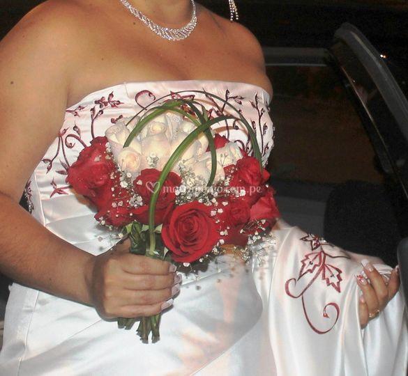 Royal bouquet rosas