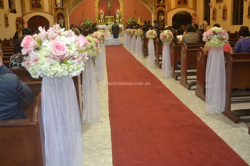 Pedestales iglesias
