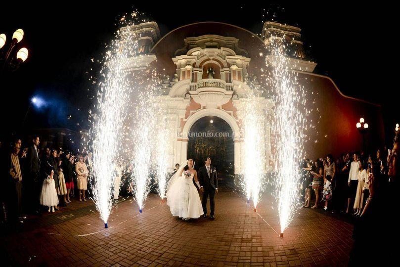 Chisperos- boda 2015
