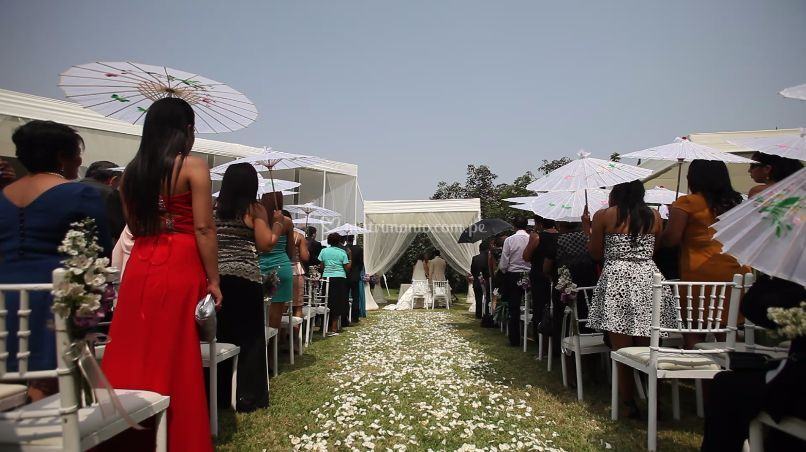 Matrimonio en Pachacamac