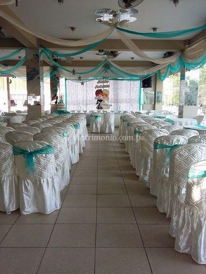Espacio para grandes bodas
