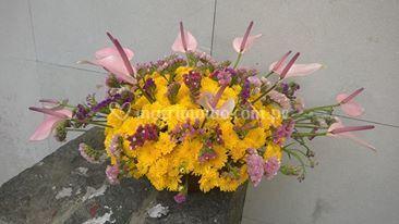 Flores en Lima