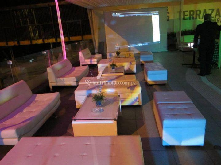 Sala lounge especial