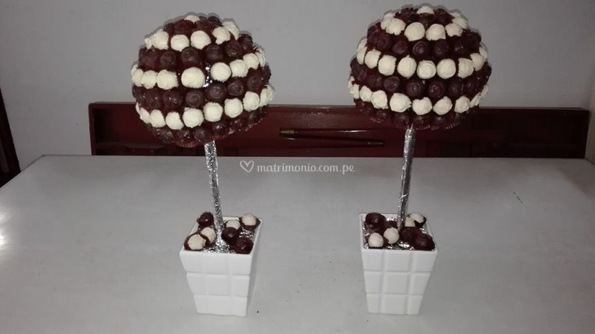 Creativos chocolates