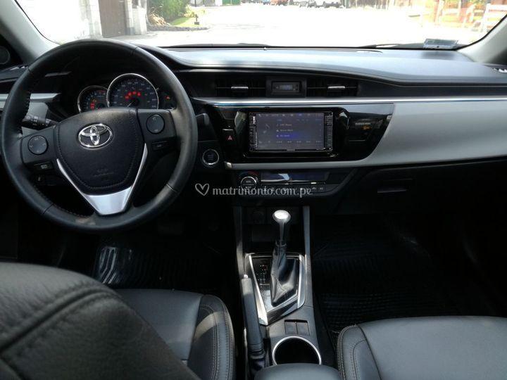 Interior del auto