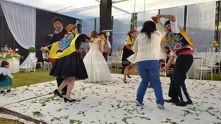 Huaylas folkloreando show