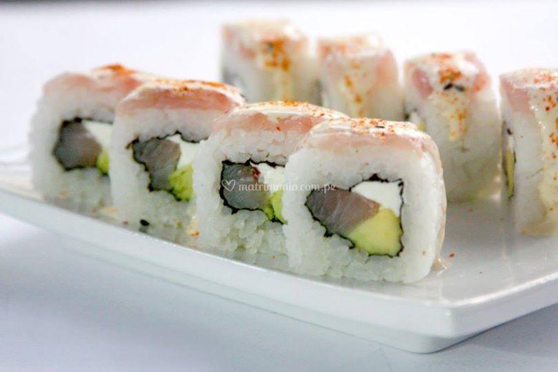 Exquisito sushi
