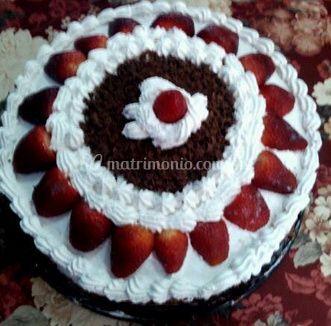 Torta con fruta