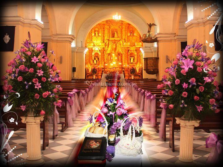 Iglesia decoración