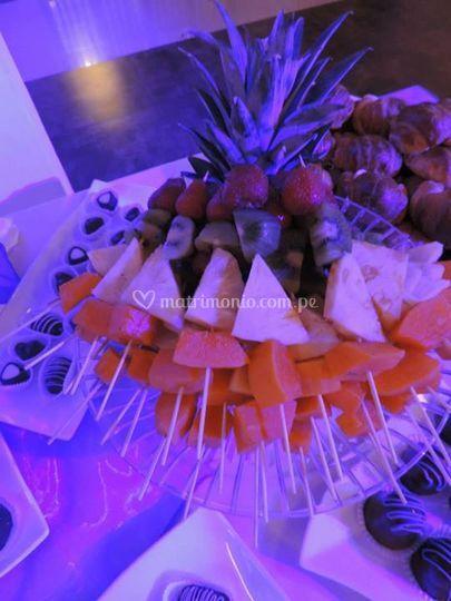 Frutas para su matrimonio