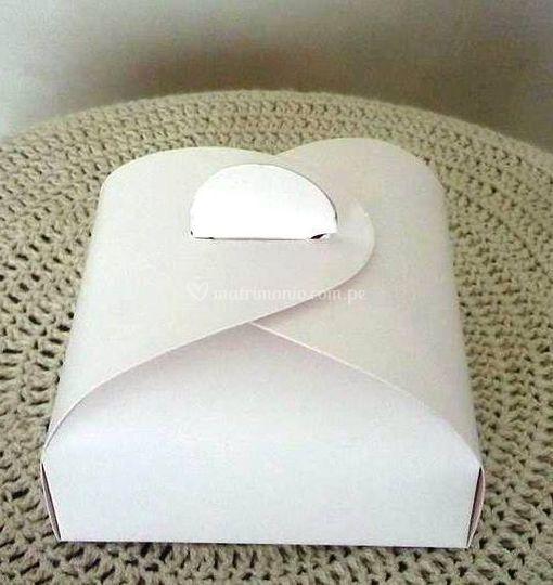 Caja torta iglu