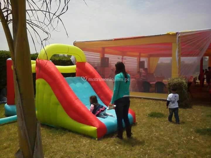 Juegos e inflables