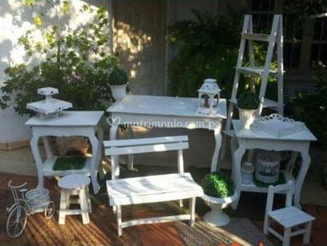 Mesas y muebles vintage de Salón de Eventos Tacna | Foto 37