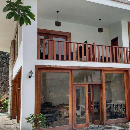 Balcón de habitaciones