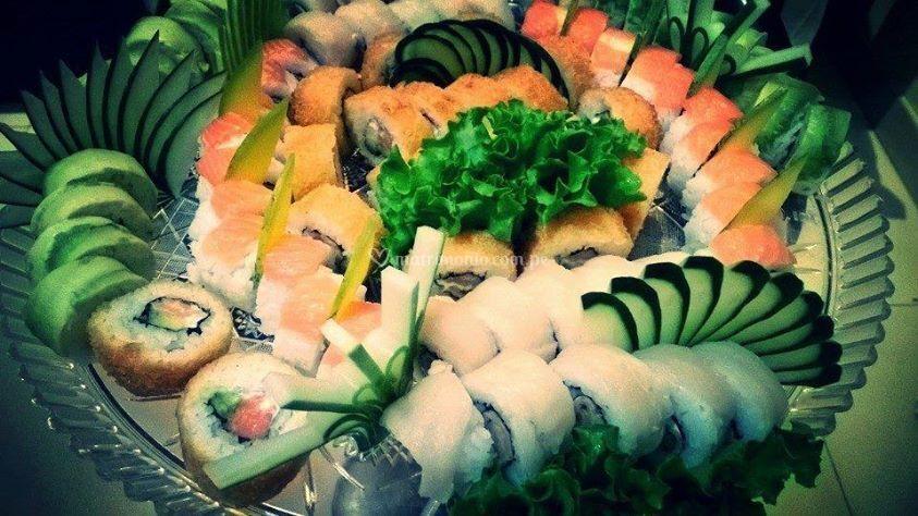 Sushi para su matrimonio
