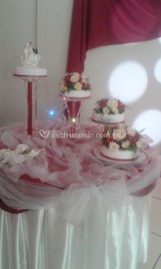 Decoración de la torta