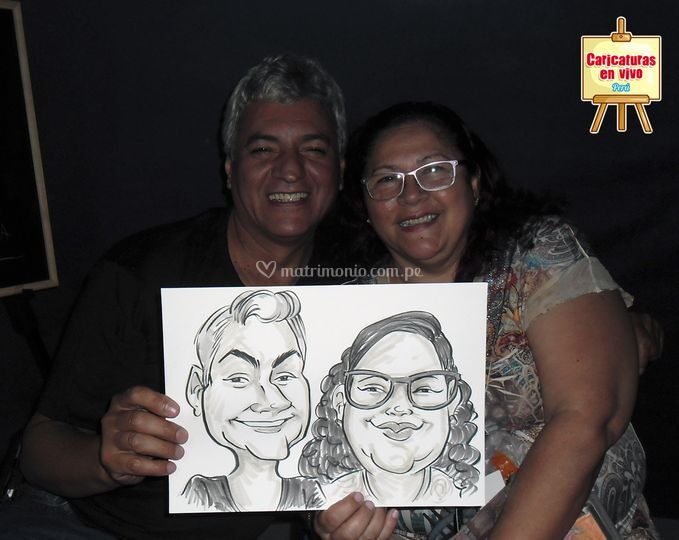 Caricatura Feria