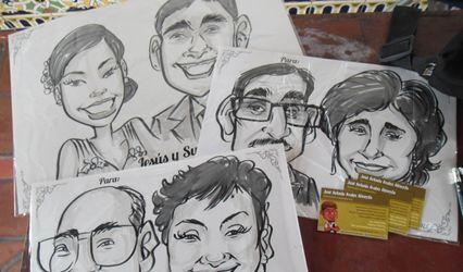 Caricaturas en Vivo Perú
