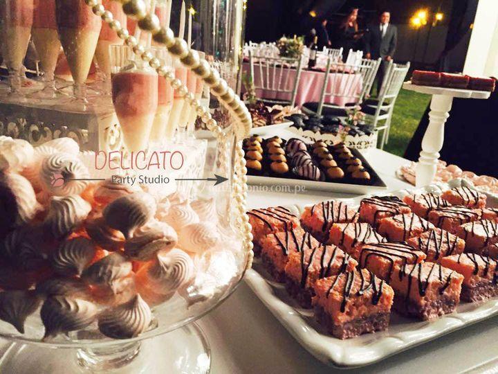 Deliciosos  y finos dulces