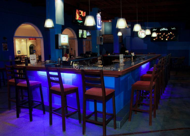 Blu bar