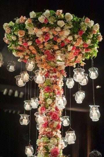 Preciosos arreglos florales