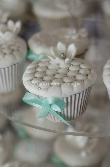 Cupcakes con perlas